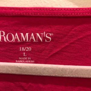 torrid Tops - Roaman's - Bright Pink Lattice Sleeve Ultimate Tee